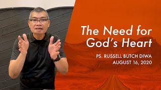 Our Need For God's Heart | BCC Sunday Service | August 16, 2020