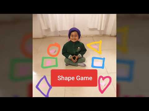 Fun Activity for learning Shapes || Shape Game