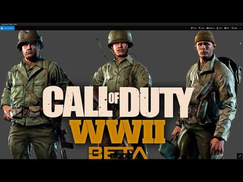 Copy of COD WW2 PC 60FPS 1440P Open BETA Multiplayer