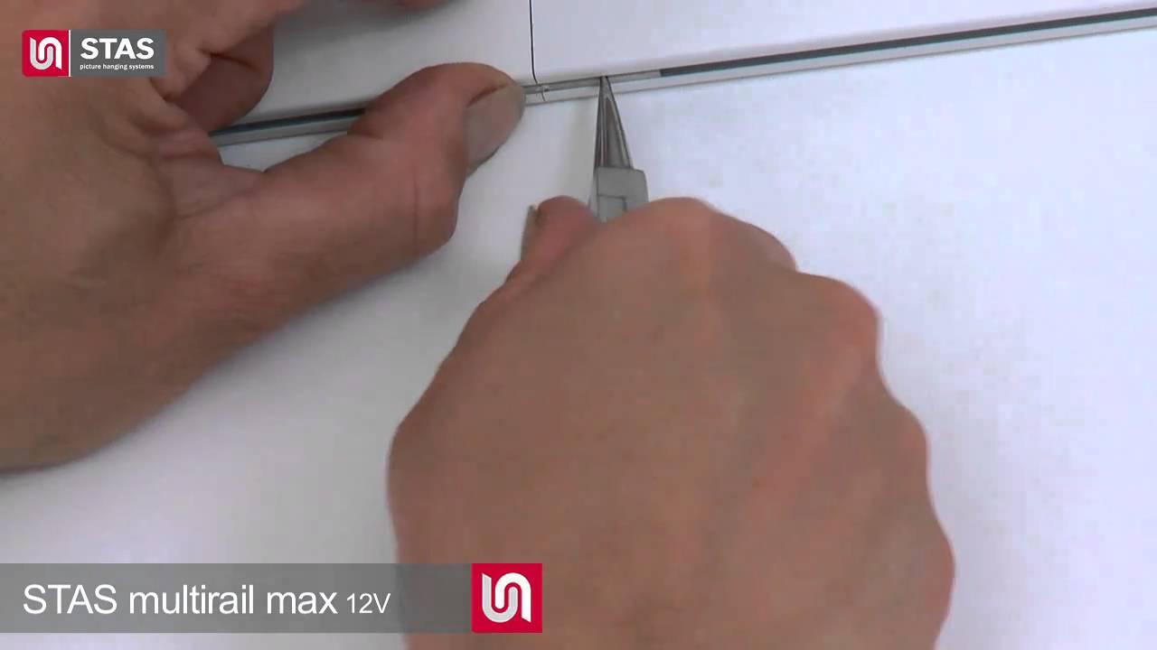 Stas Multirail Max, het plafondaansluitend ophangsysteem met ...