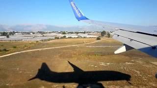Посадка самолета в Анталии