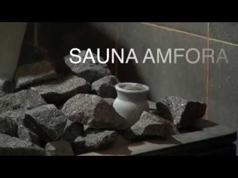 Finnish Soapstone Sauna Oil Diffuser Hukka Sauna Amphora
