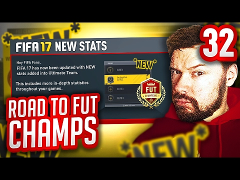 NEW STATS IN FIFA?! - FIFA 17 ROAD TO FUT CHAMPS #32