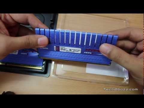 Kingston HyperX DDR3 2133 Mhz RAM Unboxing / Installation