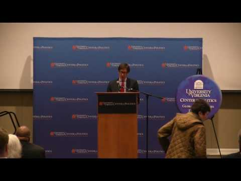 German Ambassador Lecture at UVA March 14, 2016