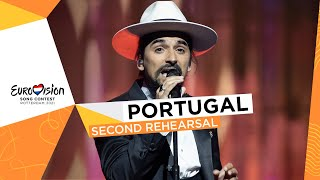 The Black Mamba - Love Is On My Side - Second Rehearsal - Portugal 🇵🇹 - Eurovision 2021