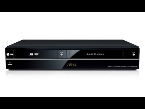 lg-rct699h-dvd-rekorder-mit-vhs-player-unboxing
