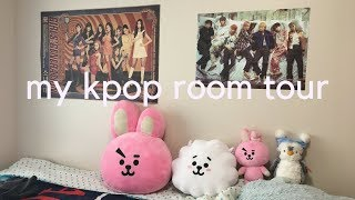 My College Kpop Room Tour!