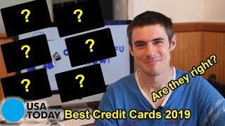 6 Best Credit Cards of 2019 - Is USA Today Right?