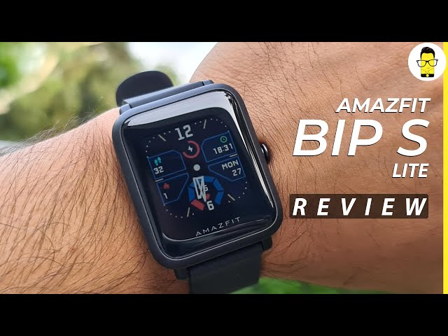 Amazfit Bip S Lite review: The go-to fitness tracker under Rs 4K? | Comparison with Bip S