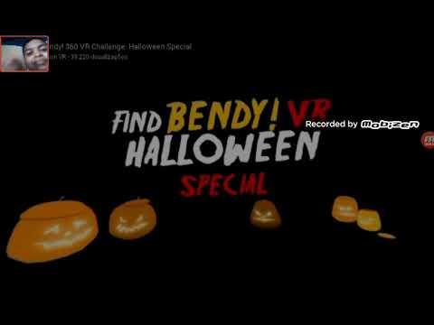 REACT-find bendy especial Halloween