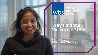 Learning business theory - Why I did the WBS Executive MBA (London)