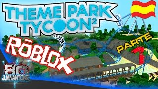 Roblox Theme Park Tycoon 2 [Beta] Part 1 We started doing the park