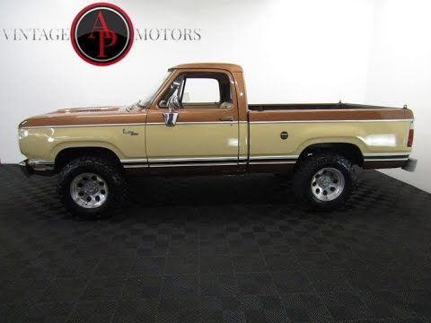 1977 Dodge W150 Power Wagon AP310