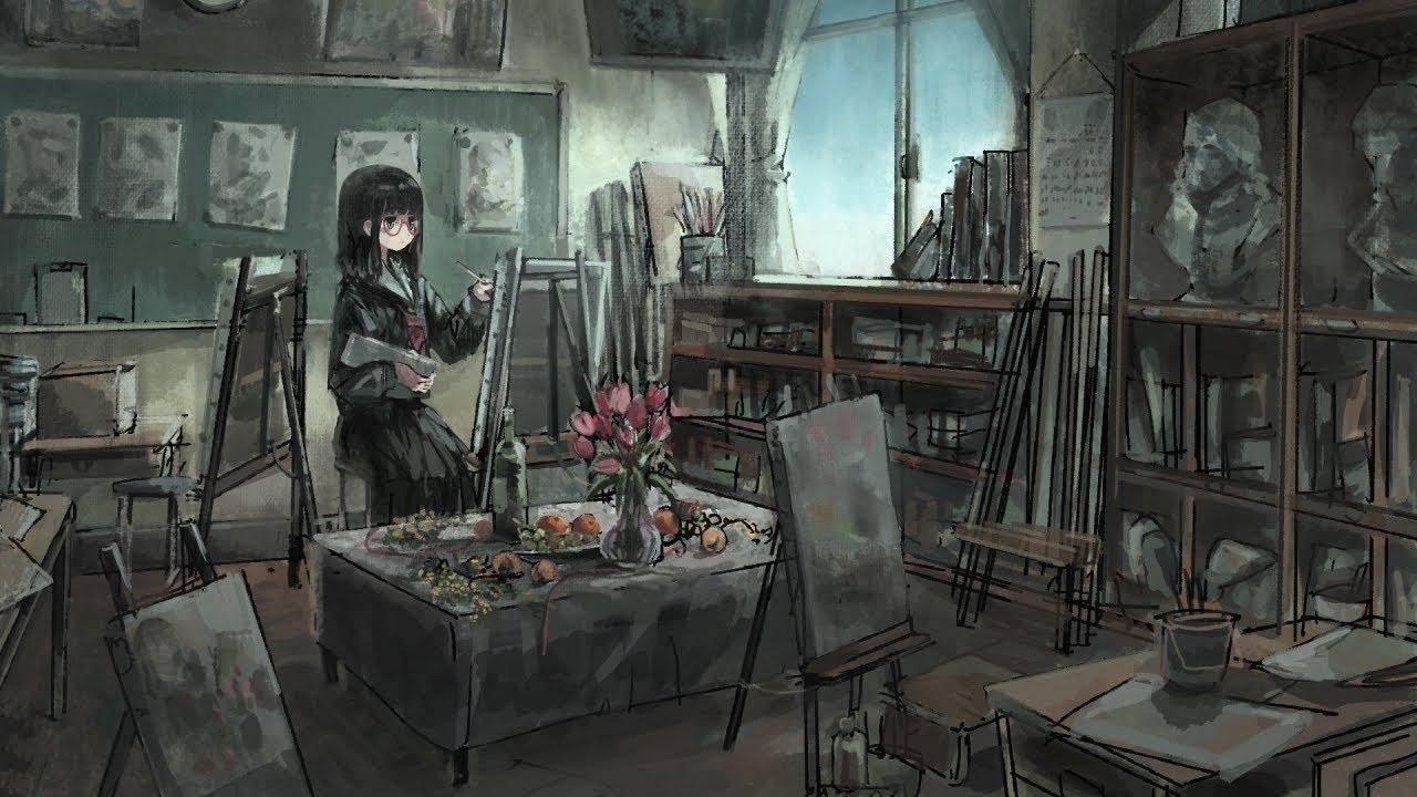 美術室のゆめ / ジグ feat. 初音ミク - Art Room Dream