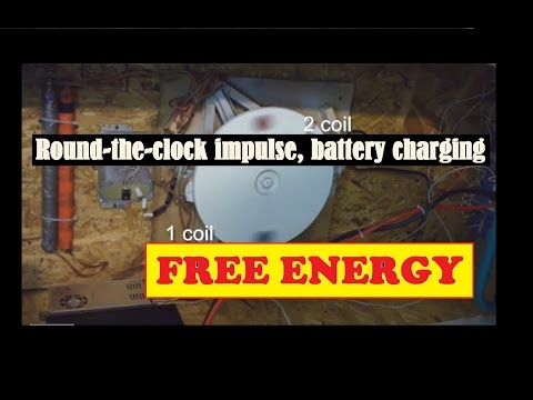 Free Energy Systems. Round-the-clock impulse, battery charging