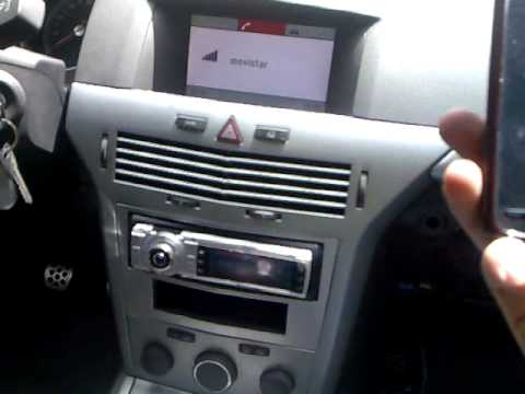 Bluetoot original astra h sin radio de serie youtube for Astra h tablet install