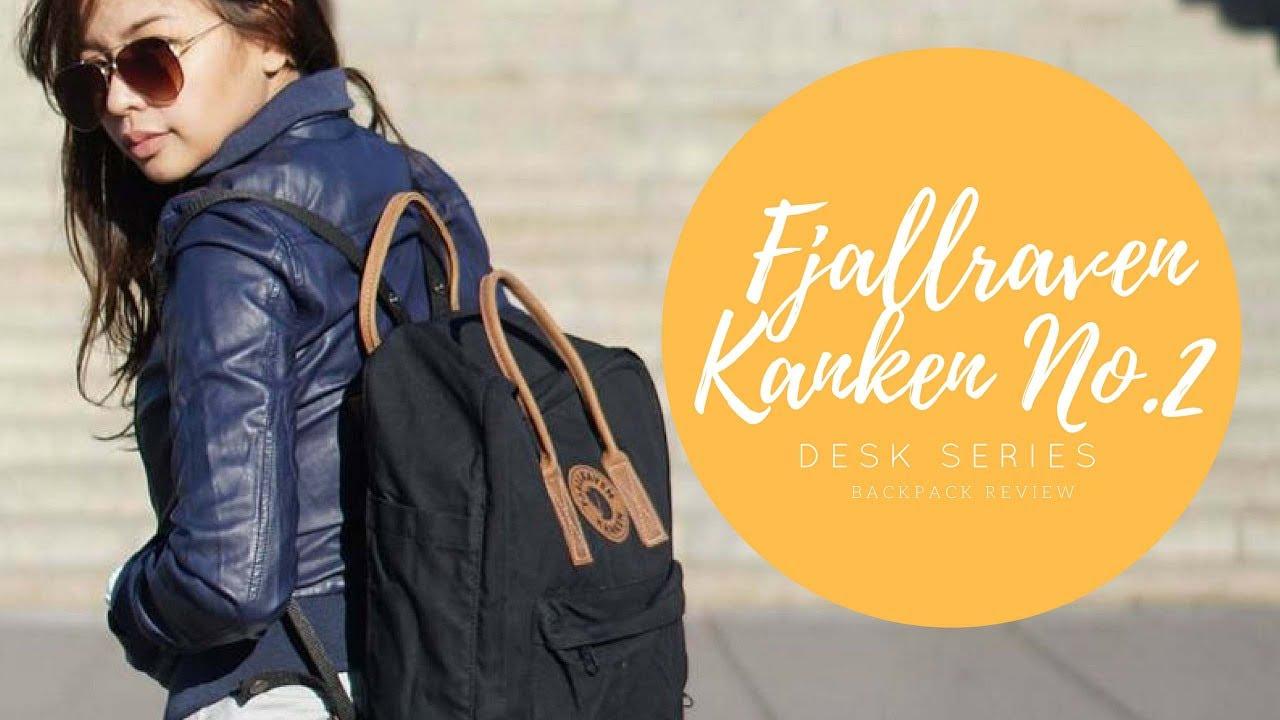 Fjallraven Kanken No 2 Review Desk Series Youtube No2 Full Black