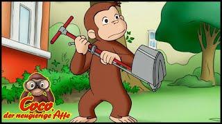 Coco der Neugierige Affe 🐵 Der Mann mit den Affenhänden 🐵 Cartoons für Kinder🐵 Staffel 3