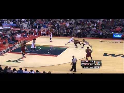 Kyrie Irving does bad things to Glen Rice Jr