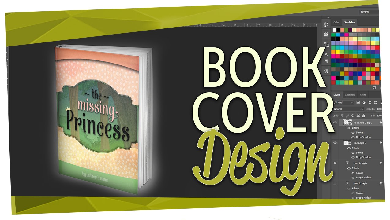 Book Cover Forros You Tube : How to design a book cover children s youtube