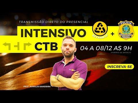 Concurso Detran CE + PRF - Intensivo CTB (Código Trânsito Brasileiro) - Ronaldo Bandeira - Aula 1