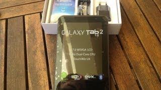 Samsung Galaxy Tab 2 7.0' - Unboxing y Review de Caracteristicas Español HD(, 2013-08-11T08:51:53.000Z)