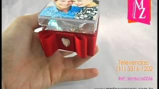 Lembrancinhas de Casamento Caixa Acrílica Personalizada