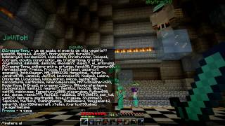 Minecraft Server HD - Cap.24 - ¡Enseñando casas de subs! + Parkour FAIL