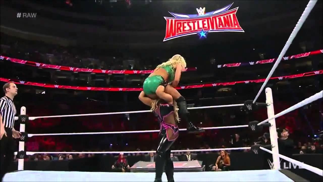 Nikki bella vs aj lee tlc 2014 - 5 8