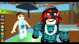 roblox mini game arena (première vidéo)