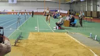Чемпіонат України з легкої атлетики у приміщенні, Суми. Чемпіонська спроба Марини Бех