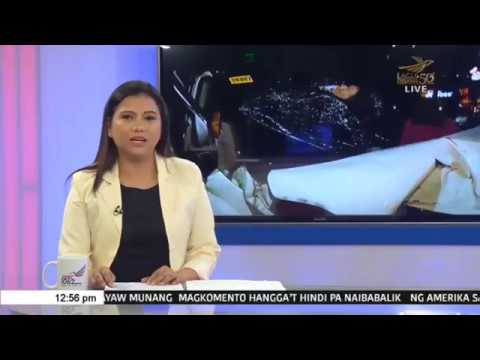 Karo ng patay sumalpok sa  isang truck sa Quezon Avenue ; 2 sugatan