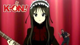 K-ON!: Shia LaBeouf motivates Mio Akiyama to overcome her shyness
