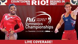 2015 P&G Gymnastics Championships - Sr. Men - First 90 minutes