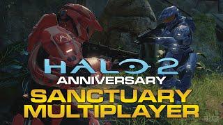 "Halo 2 Anniversary - ""Shrine"" Sanctuary Remastered Multiplayer Gameplay B-Roll"