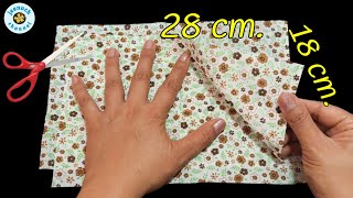 WOW Young Modern Mask Pattern by hand Very Easy Face Mask Face Mask Sewing Tutorial