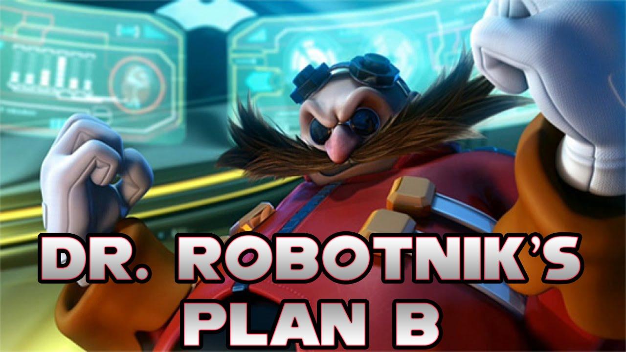 Afbeeldingsresultaat voor dr. robotnik's plan b