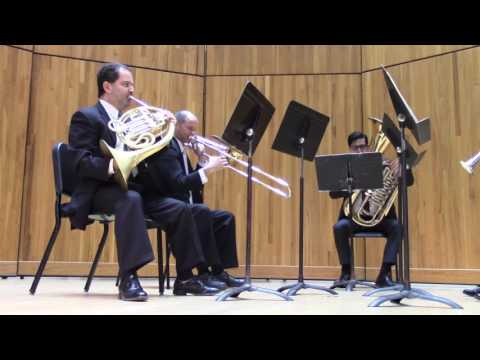 The Wisconsin Brass Quintet
