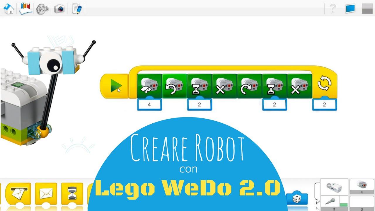 Программирование в LEGO Education WeDo Software - Часть 3. Запуск .