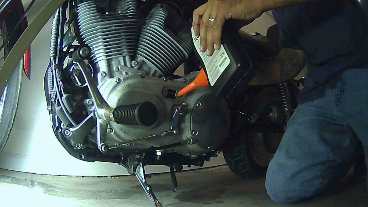 harley davidson primary and transmission oil change - youtube