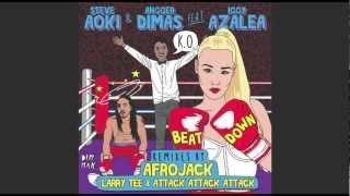 Download Steve Aoki & Angger Dimas ft Iggy Azalea - Beat Down (Afrojack Remix) MP3 song and Music Video
