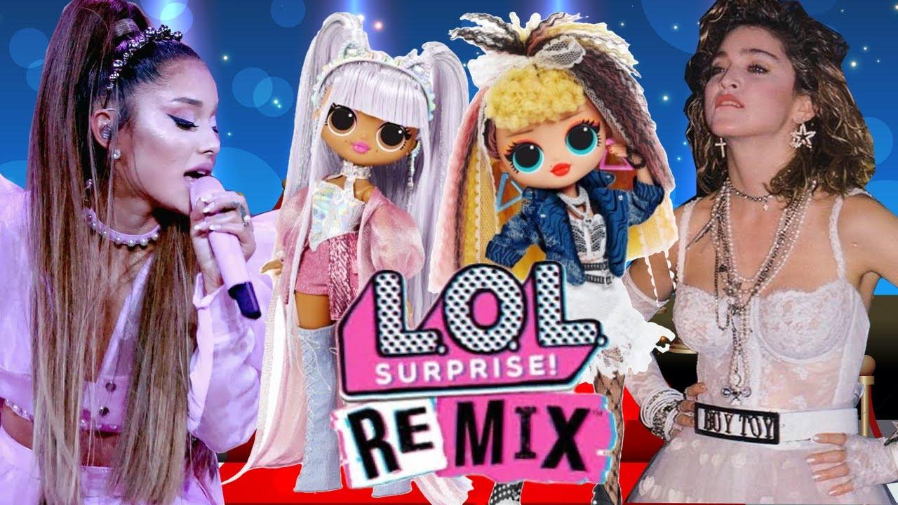 НОВЫЕ LOL Surprise OMG REMIX 2020 / Кукла АРИАНА ГРАНДЕ ...