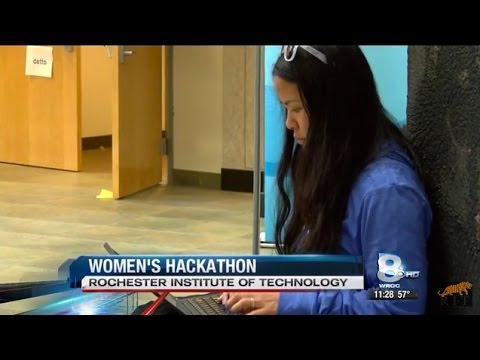 RIT on TV: WiC Hacks all-women hackathon