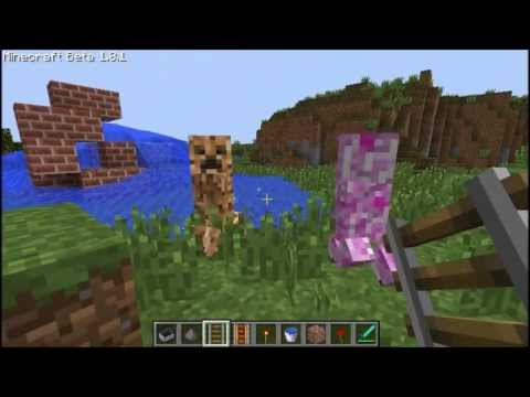 elemental creepers mod for minecraft 1.8.1