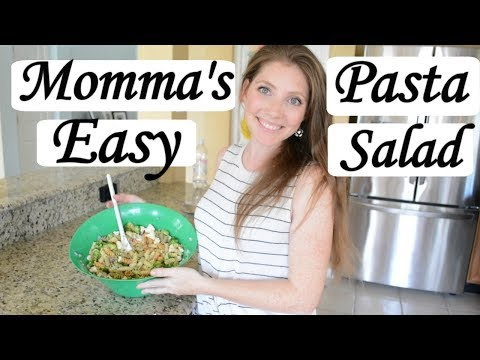 The Best Quick And Easy Pasta Salad | Healthy Pasta Salad | Easy And Delicious Pasta Salad Recipe