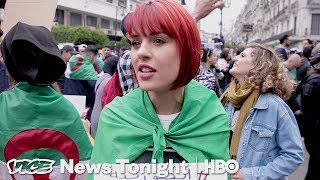vuclip The Youth-Led Protests That Forced Algeria's President To Not Run Again (HBO)