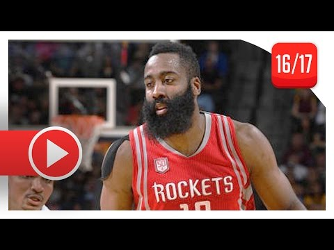 James Harden Triple-Double Highlights vs Nuggets (2017.03.18) - 40 Pts, 10 Reb, 10 Ast
