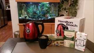 Hamilton Beach Stainless Steel 10 Cup Electric Kettle Review
