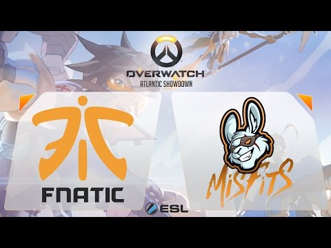 Overwatch - Fnatic vs. Misfits - Overwatch Atlantic Showdown - Gamescom Finals - Group A Decider